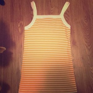 Mustard colored tank top!